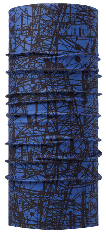 Chusta uniwersalna BUFF Thermal POWER LINES BLUE INK